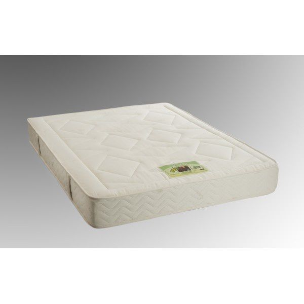 Matelas bio chanvre anti punaise de lit, fabriqué avec un bloc de latex 100%naturel de 19 cm et son coutil bio chanvre. Densitée du latex et dimension à la demande.