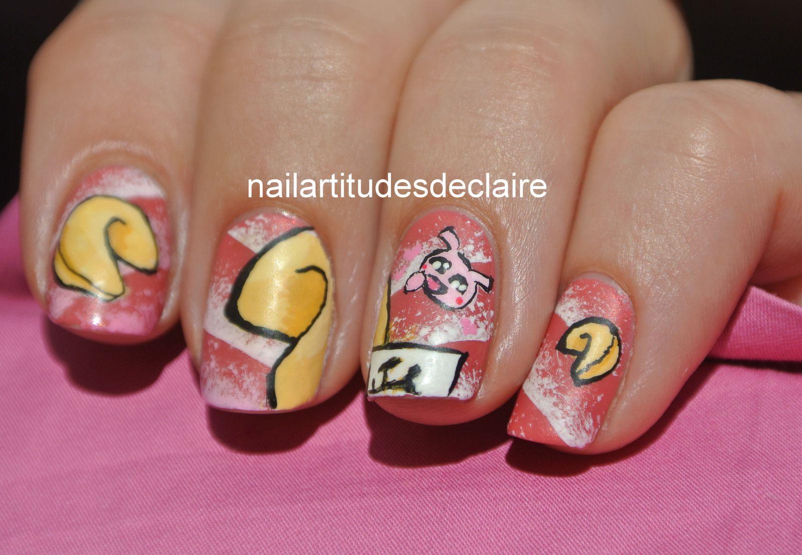 Nail Art Gateaux