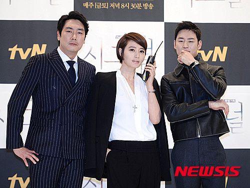 source photo : Newsis :: Cho Jin-Woong - Kim Hye-Soo - Lee Je-Hoon