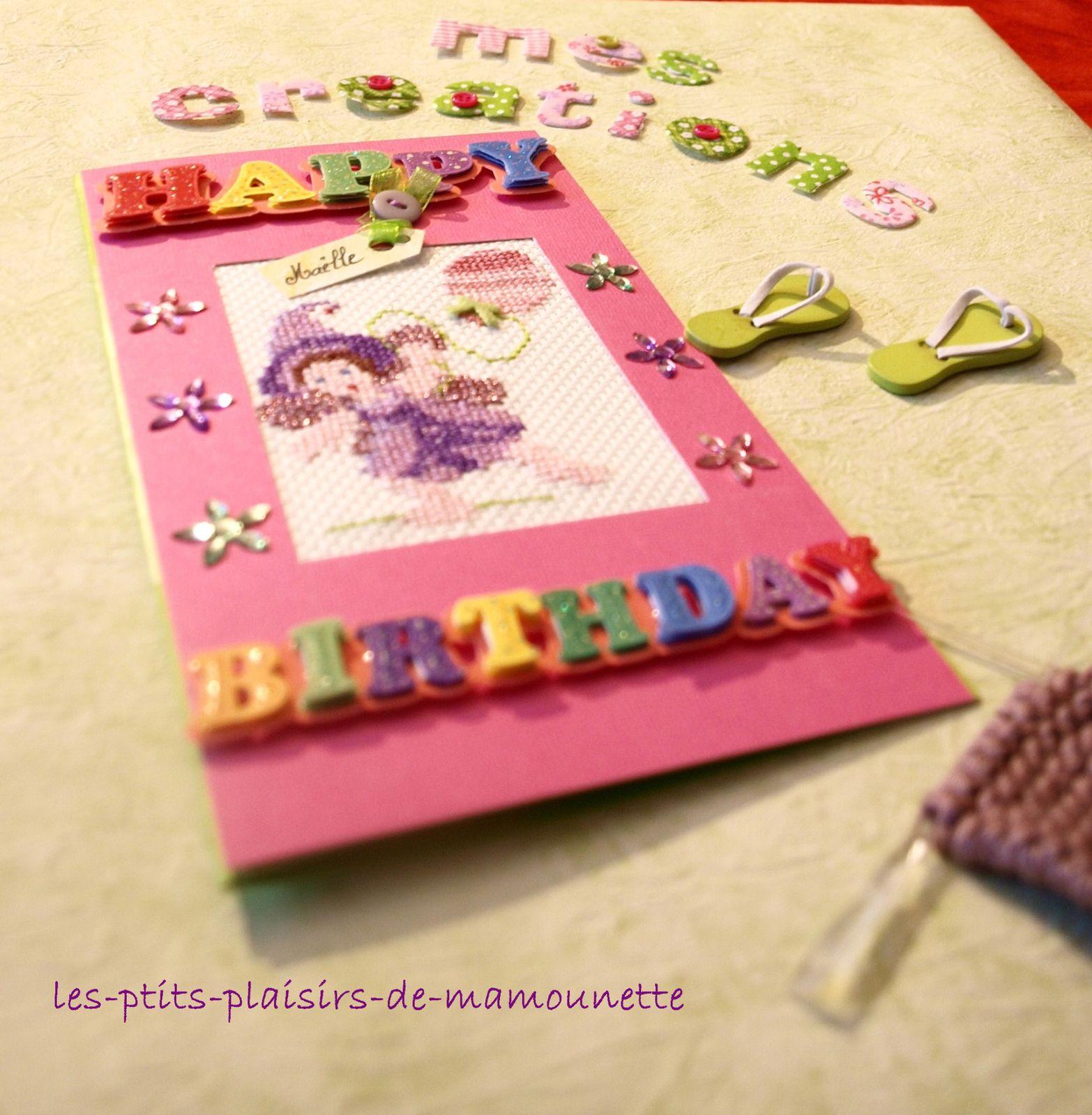 Happy Birthday Maëlle