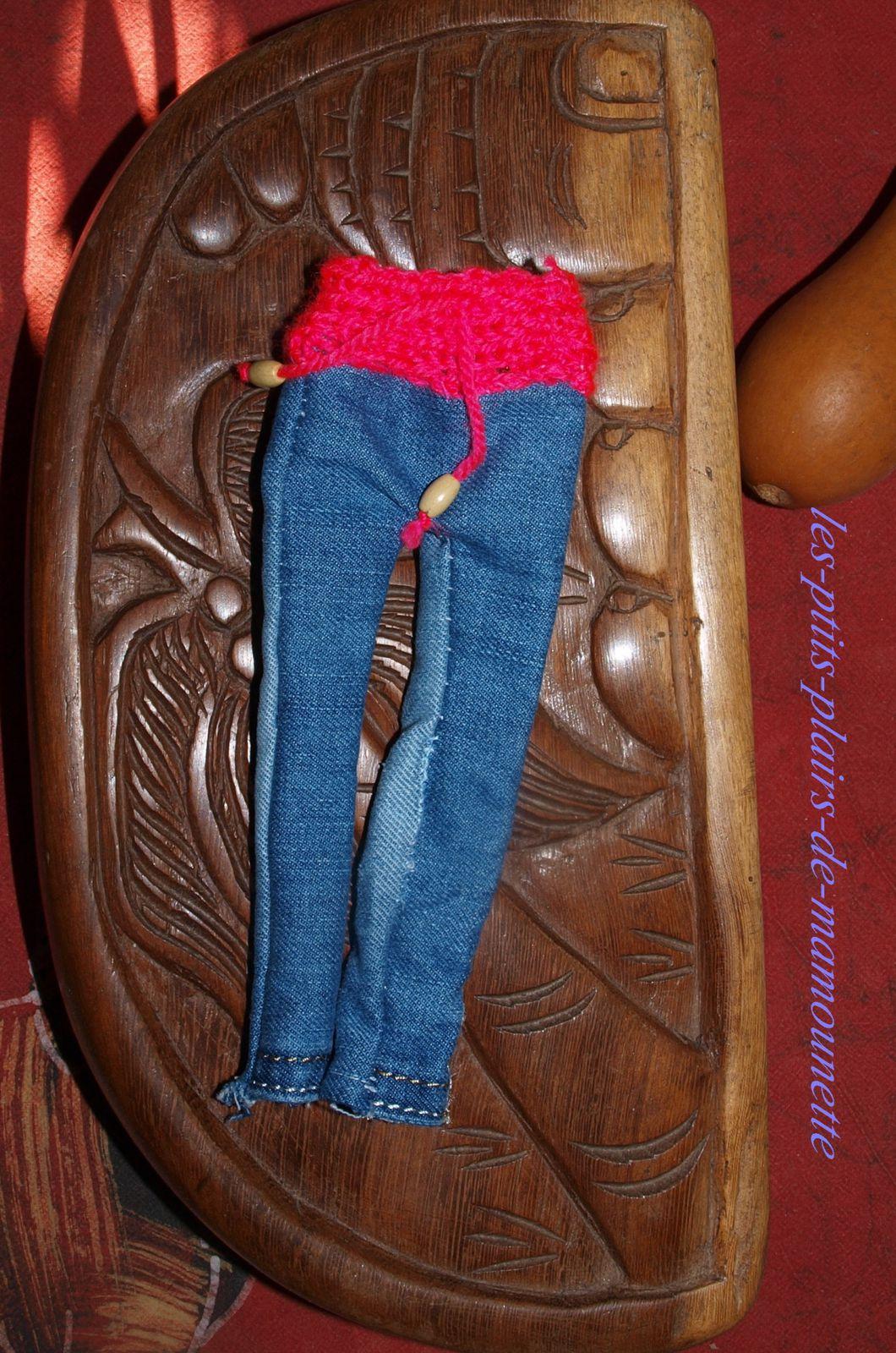 Du jeans pour Barbie