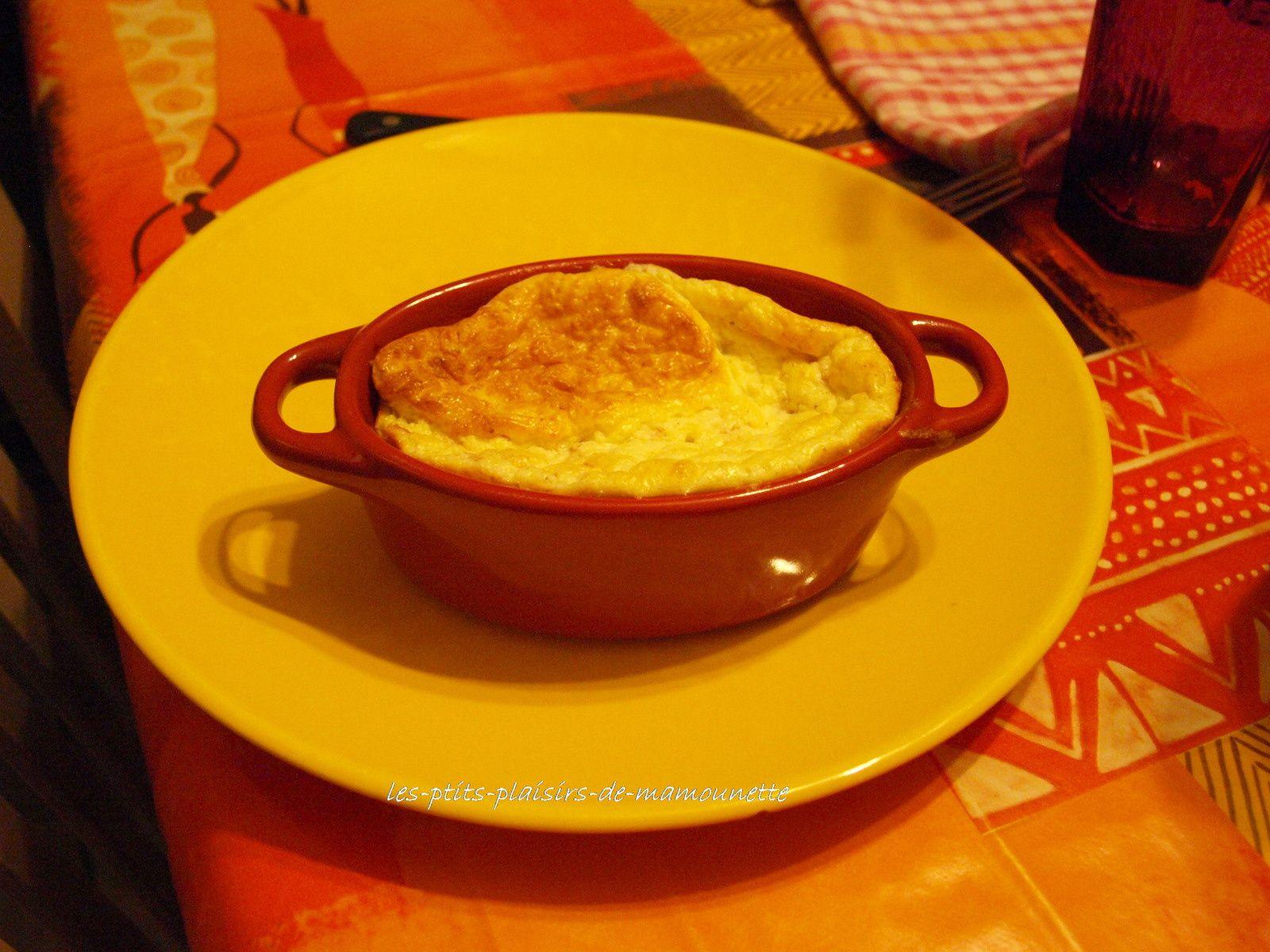 Soufflé au fromage et au jambon