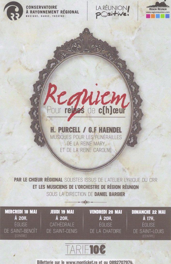 Concerts du Choeur Régional - mai 2016
