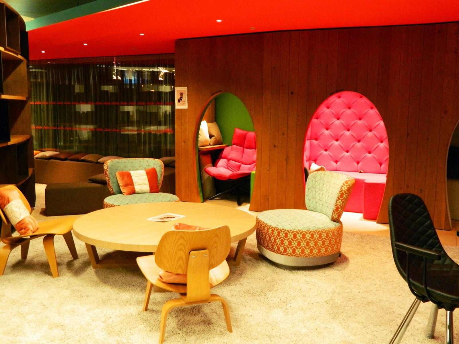 Les bureaux Google De Londres. Part. 2: Tottenham Court Road