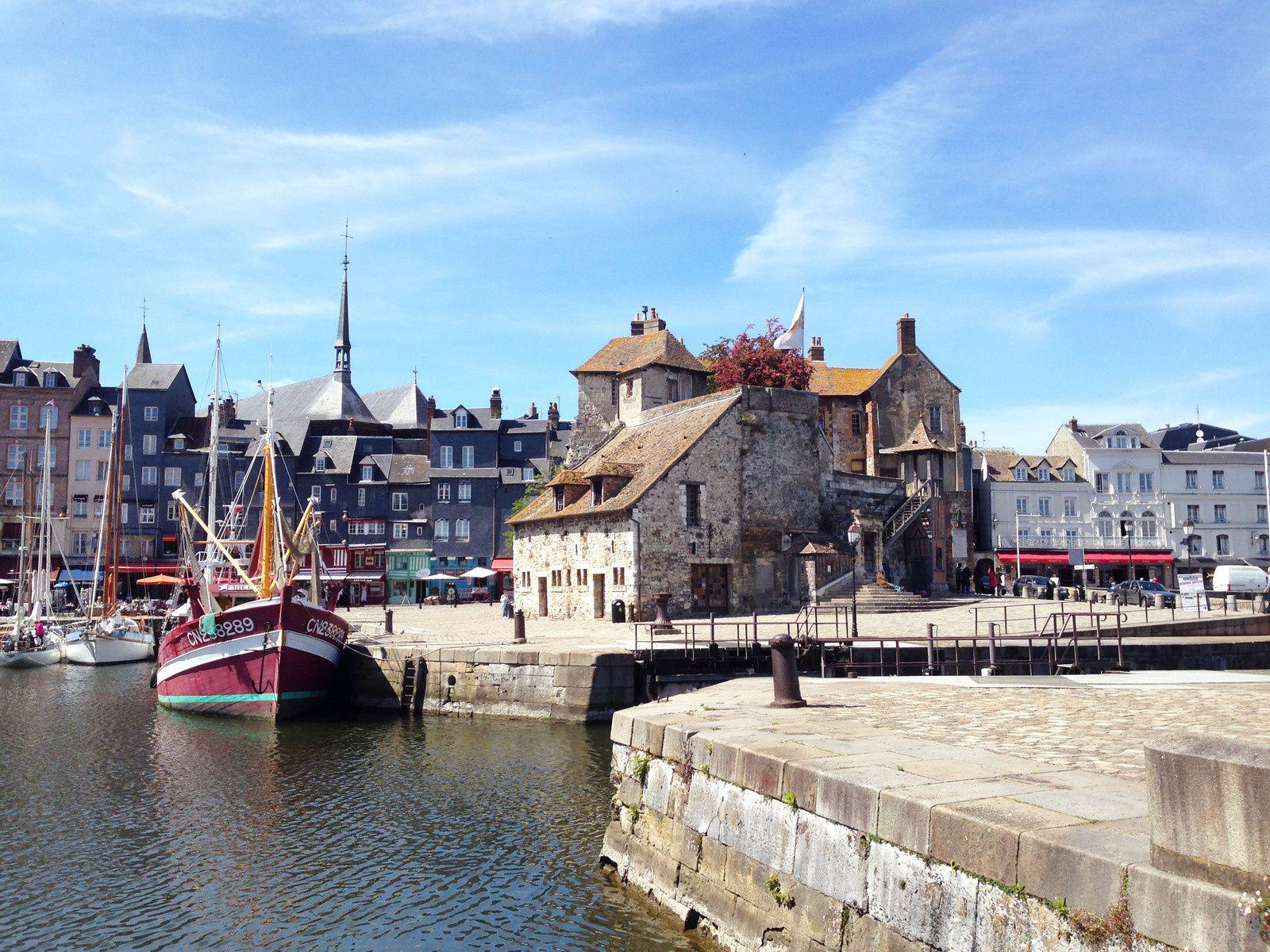 La côte Normande : Honfleur