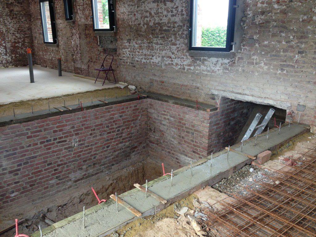 Arrase des murs de cave maf maison - 4 murs arras ...