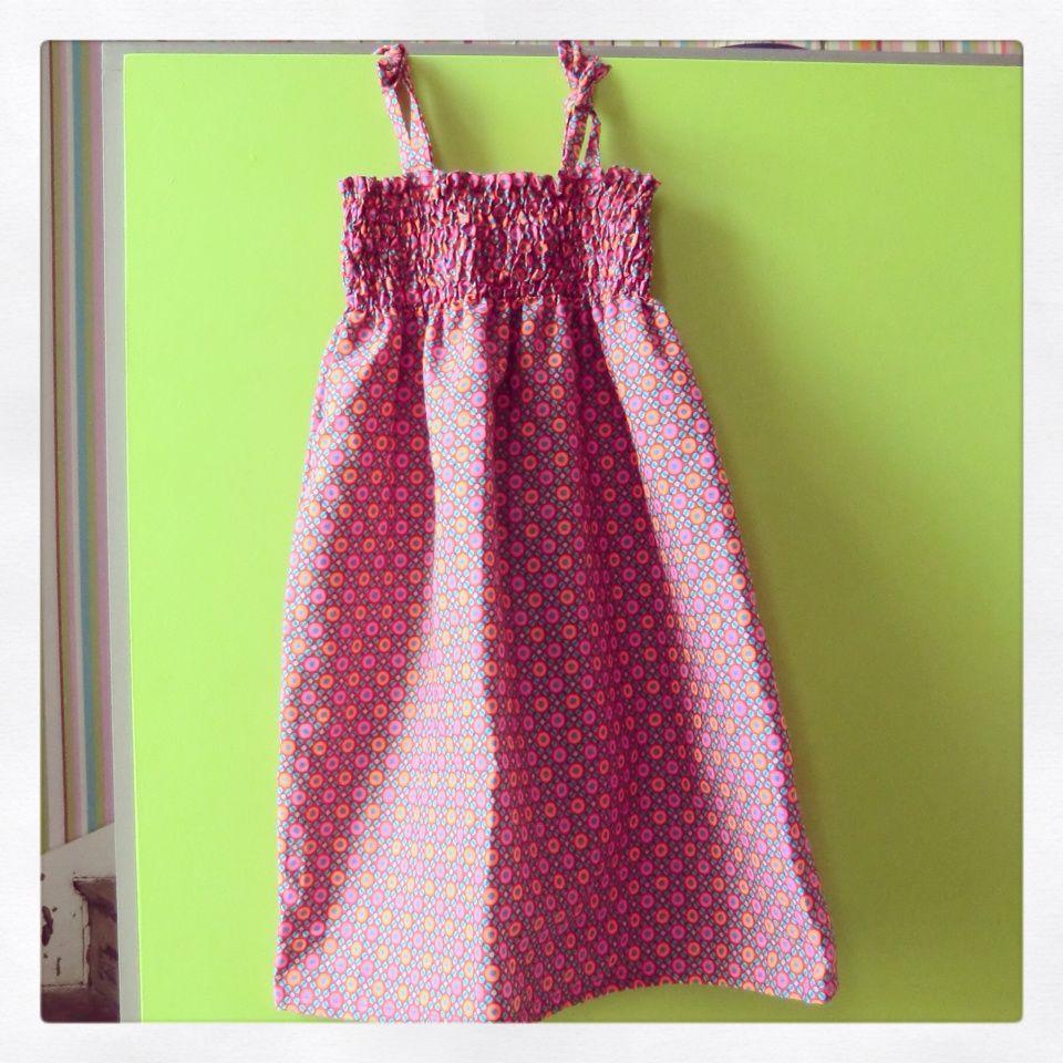 Une robe à smocks...