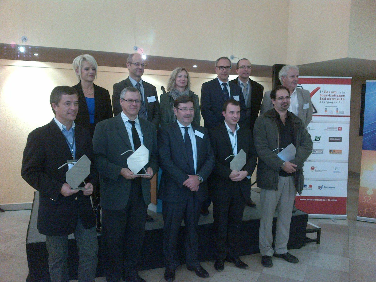 l'IRCE présente au 3° forum de la sous-traitance industrielle Bourgogne Sud