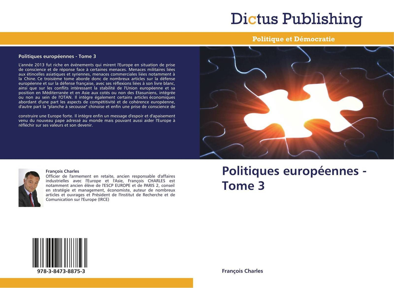 POLIIQUES EUROPEENNES  TOME 3