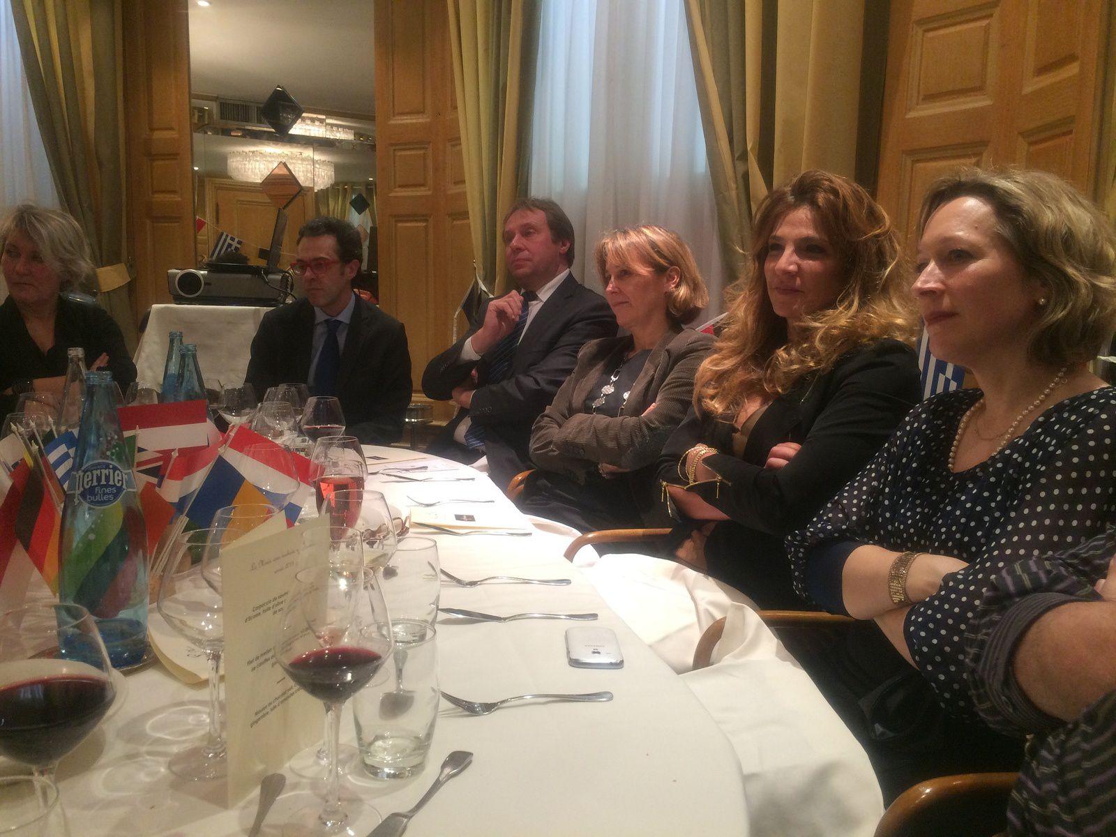 """Notre diner du 13 janvier  """"l'énergie nuclaire en 2015 : défis et perspectives"""" avec Emmanuel MIGNOT, Directeur International d'AREVA"""
