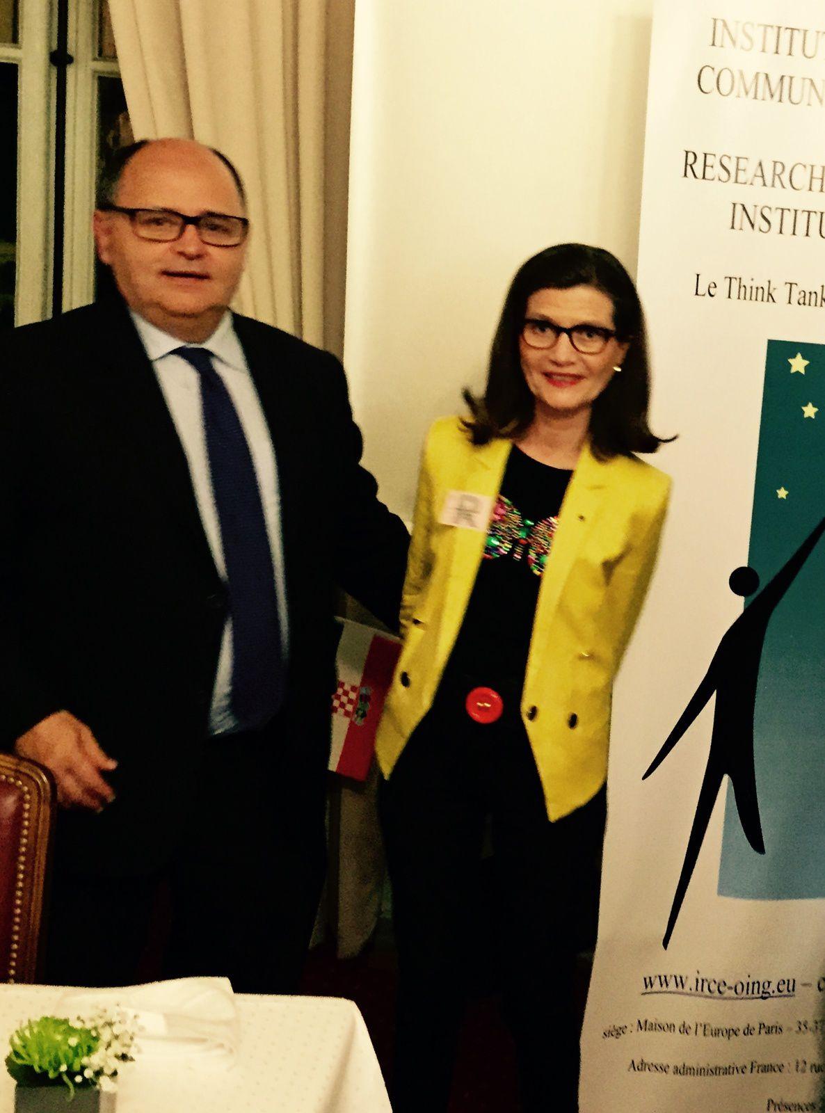 Dîner IRCE MBDA et industrie de défense européenne au Sénat