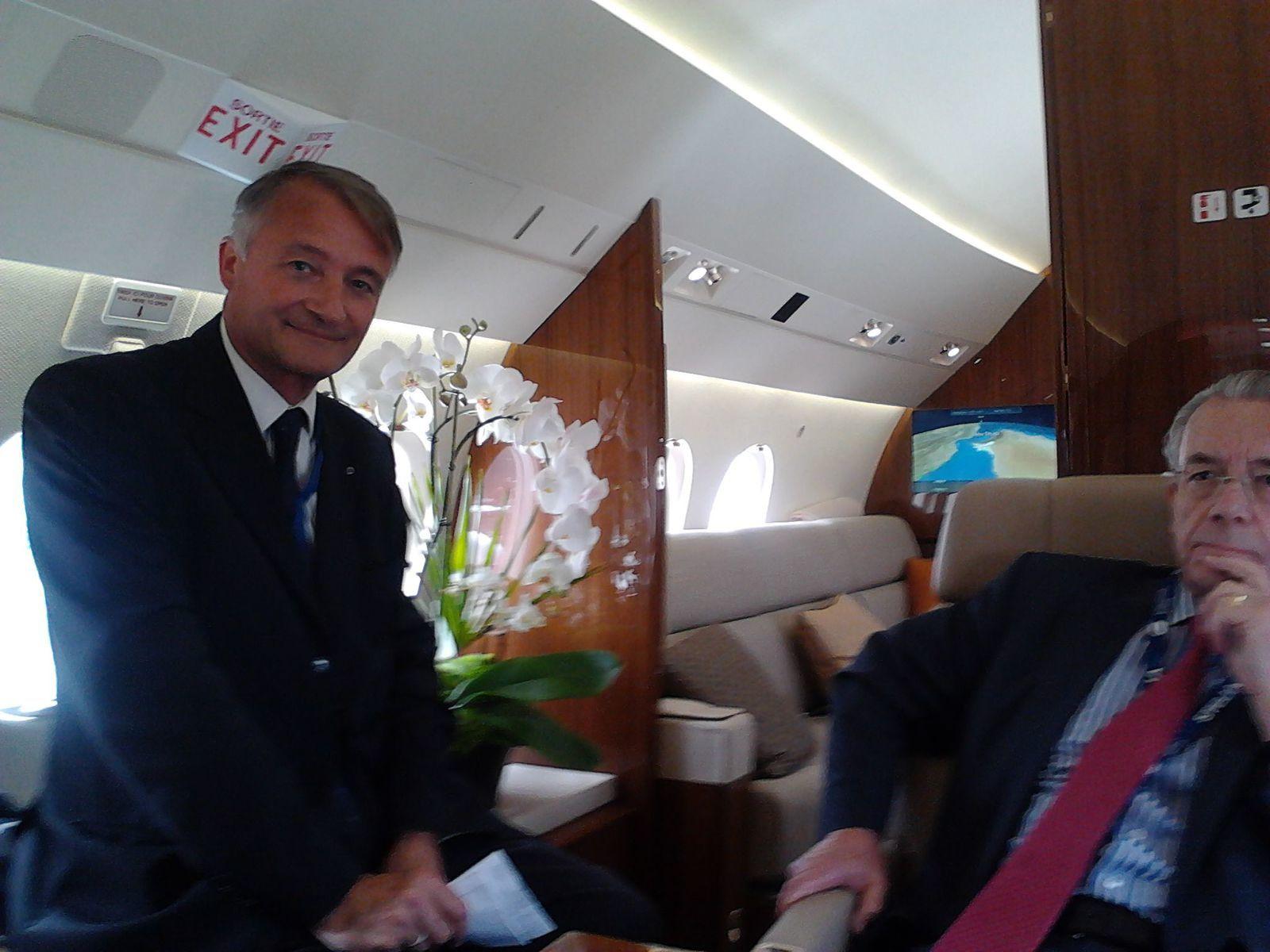 Délégation IRCE au salon aéronautique du Bourget - IRCE delegation at Le Bourget Air show