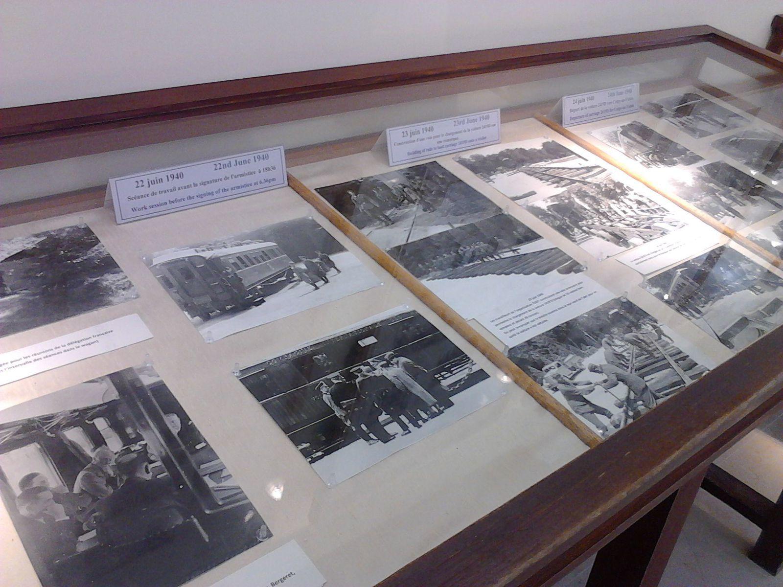Visite de la clairière de l'armistice de Compiègne