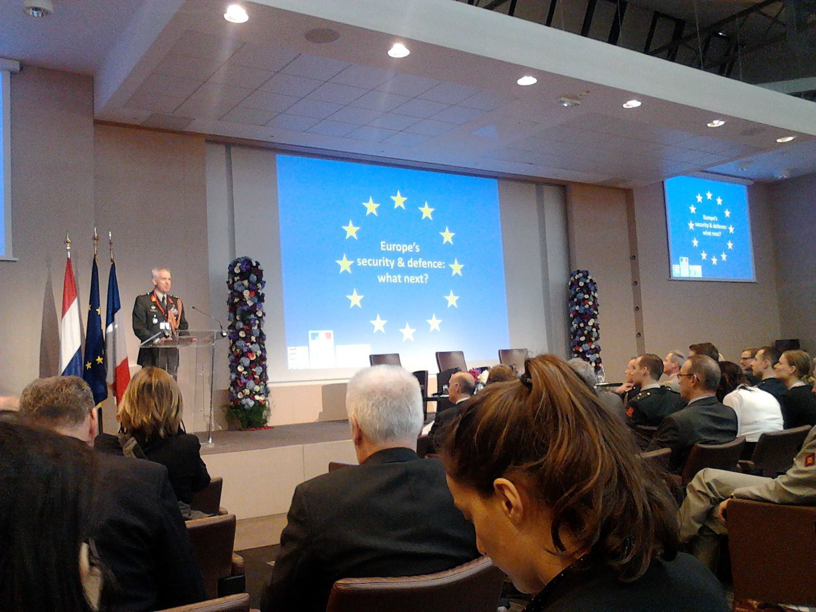 "Colloque ""Europe's Security and Defense : what next ?"""