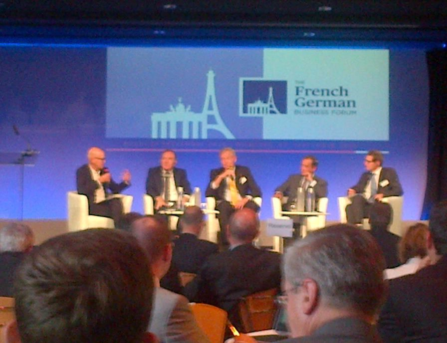 FRENCH GERMAN BUSINESS FORUM LES ECHOS