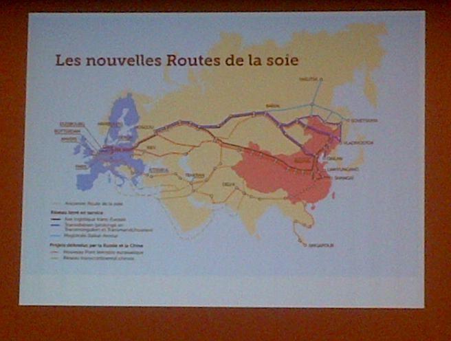 LA CHINE TISSE SES ROUTES DE LA SOIE EN EUROPE
