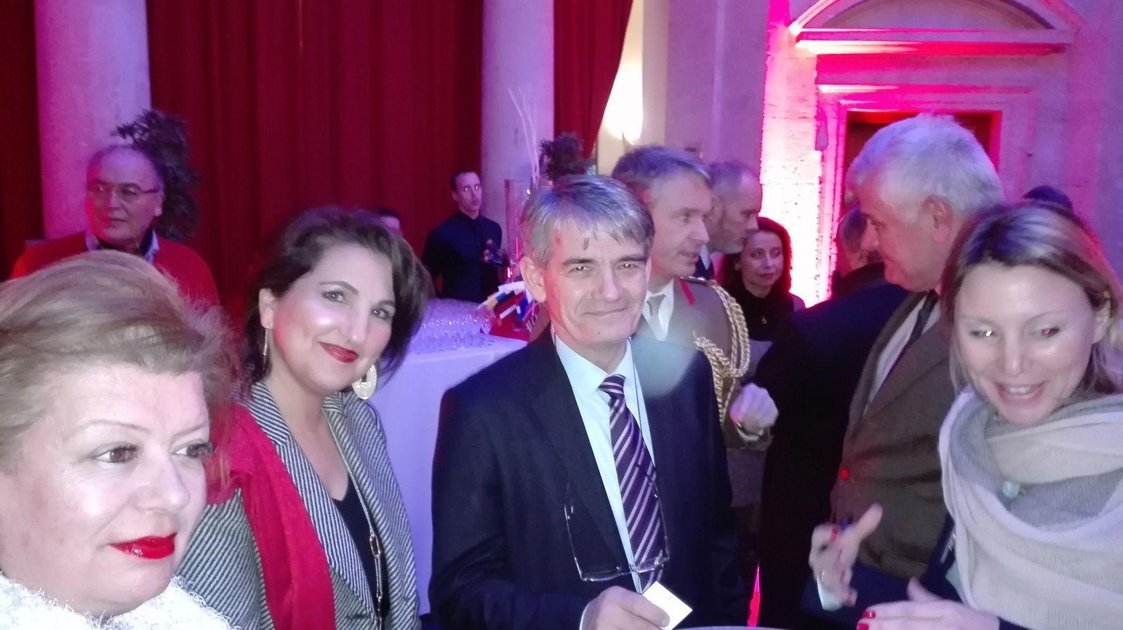 LES  VOEUX DU PRESIDENT  L'I.R.C.E. 2017 - ROTONDE GABRIEL - ECOLE MILITAIRE