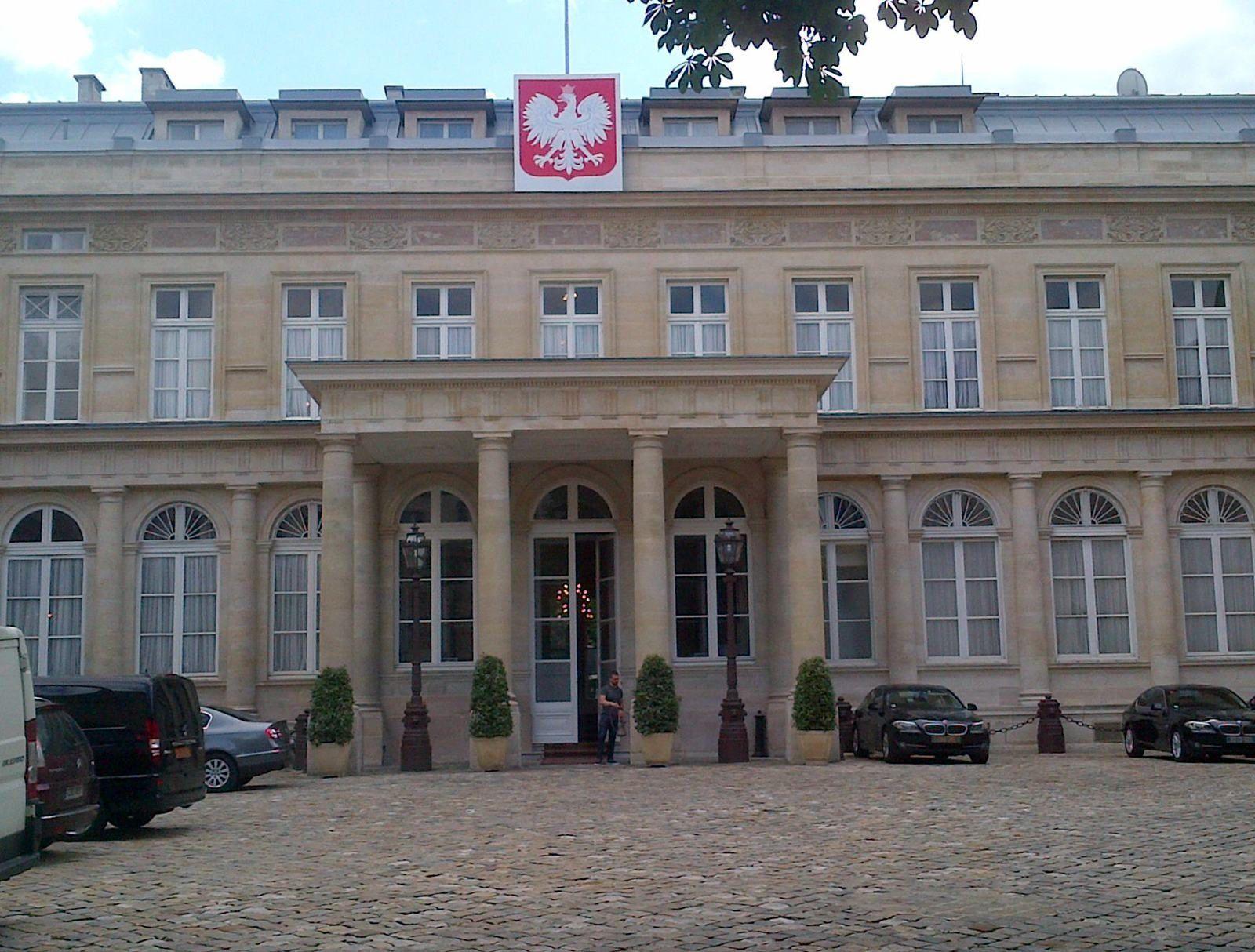 Rencontre avec l'Ambassadeur de Pologne