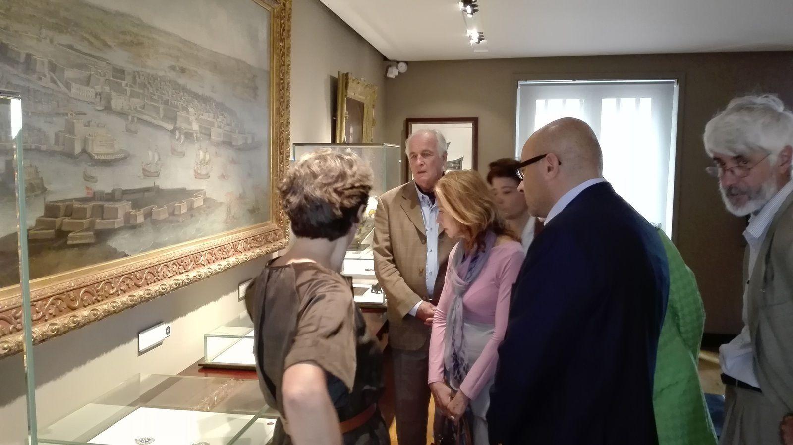 VISITE DU MUSEE DE LA LEGION D'HONNEUR ET DES ORDRES DE CHEVALERIE