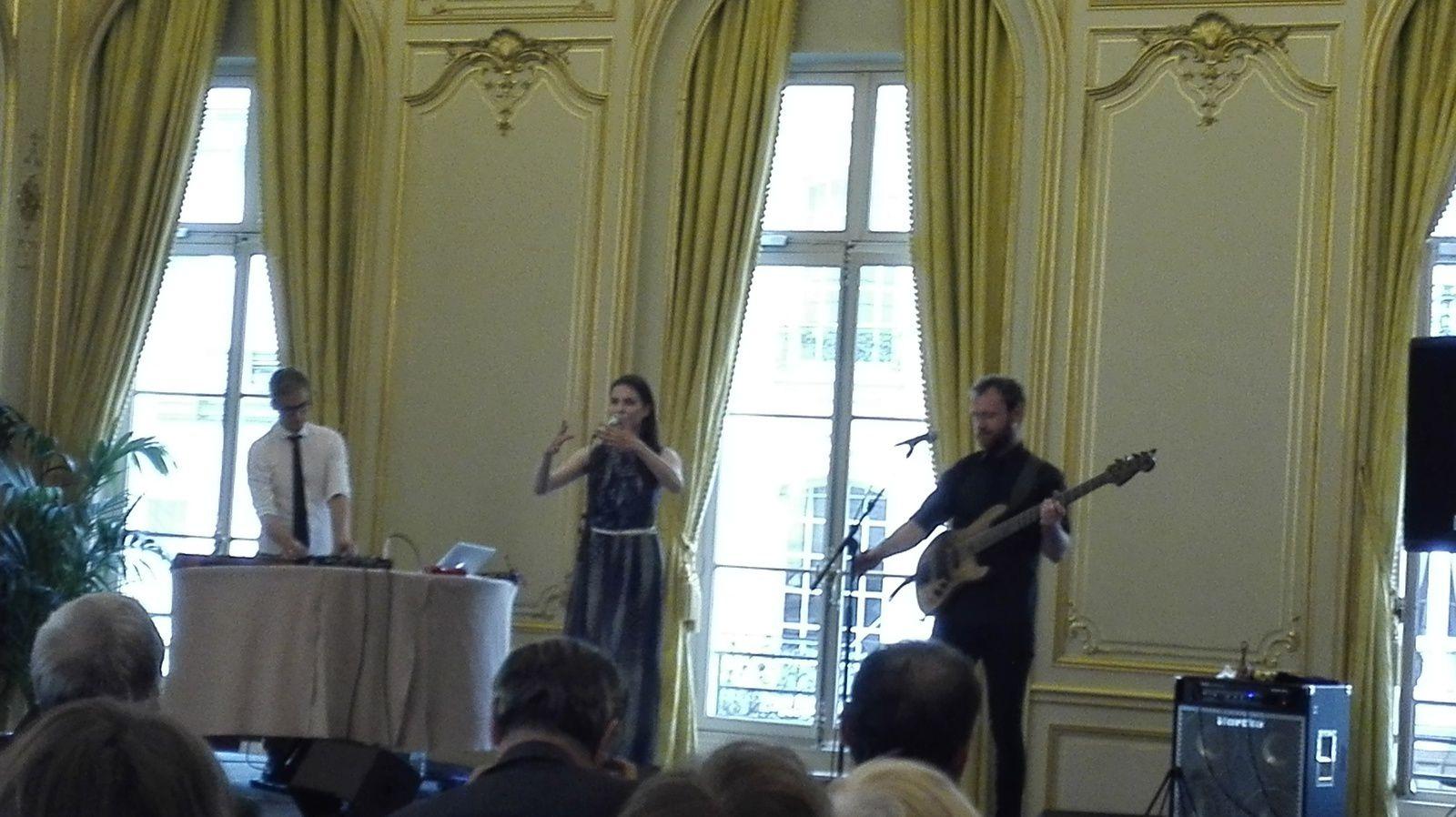 Cérémonie et concert d'ouverture à Paris de la présidence estonienne du Conseil de l'UE