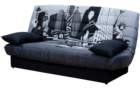 housse clic clac new york. Black Bedroom Furniture Sets. Home Design Ideas