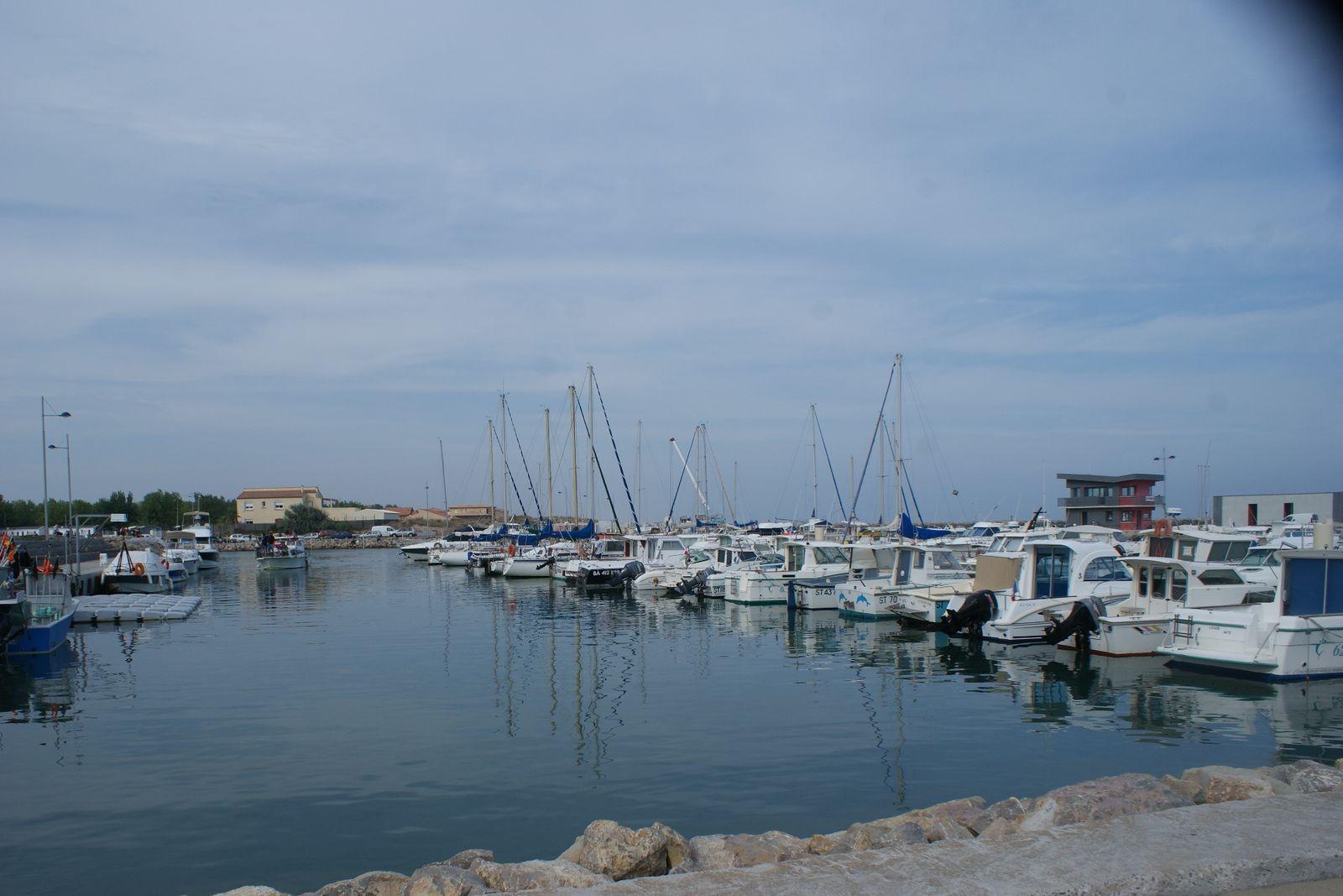 Marseillan plage et le Port