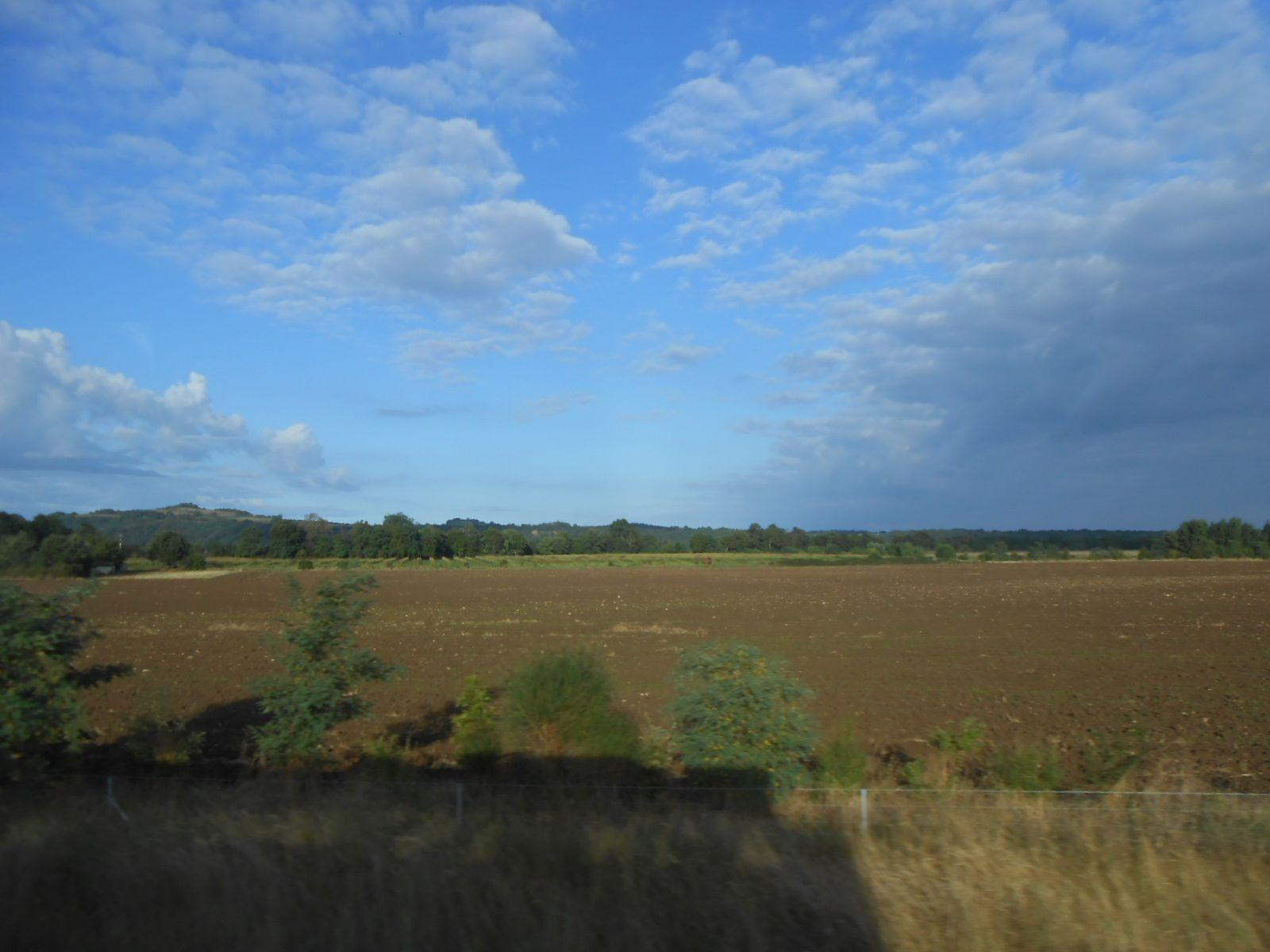 les nuages dans les paysages