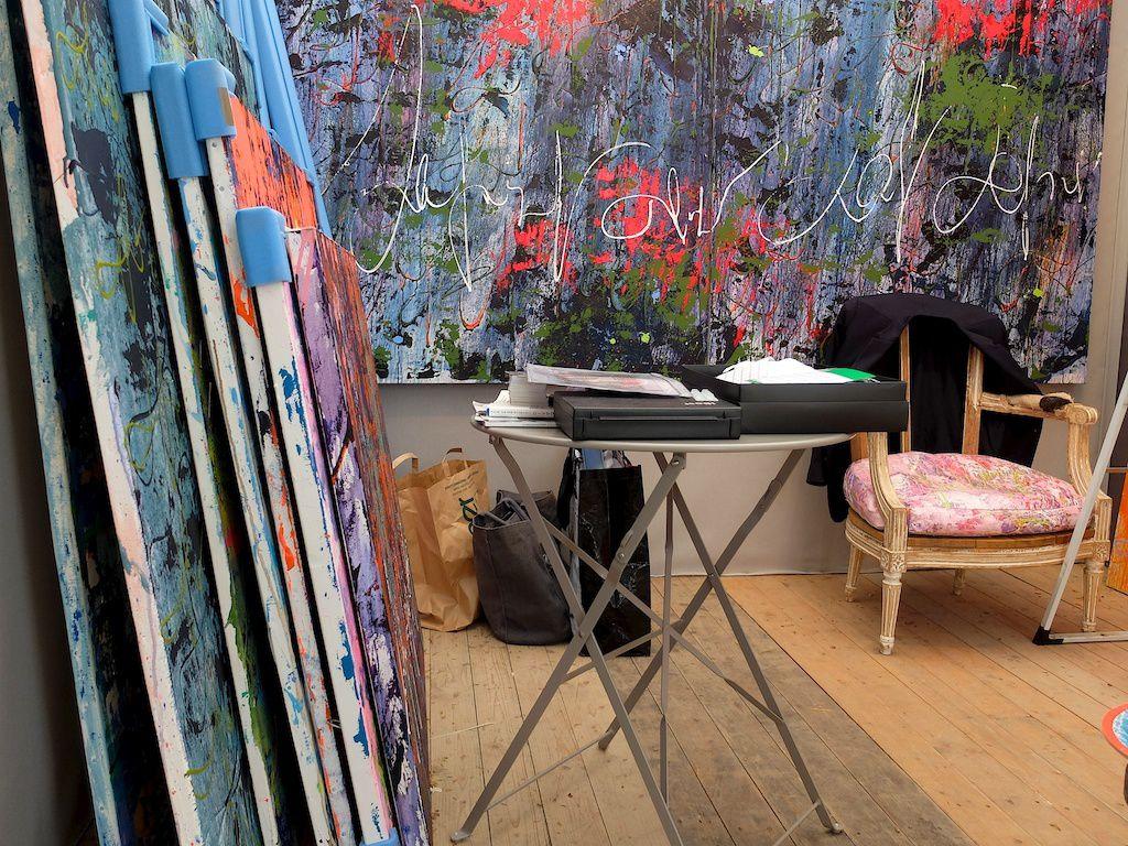 chris claisse-grand marché art contemporain-Paris bastille.