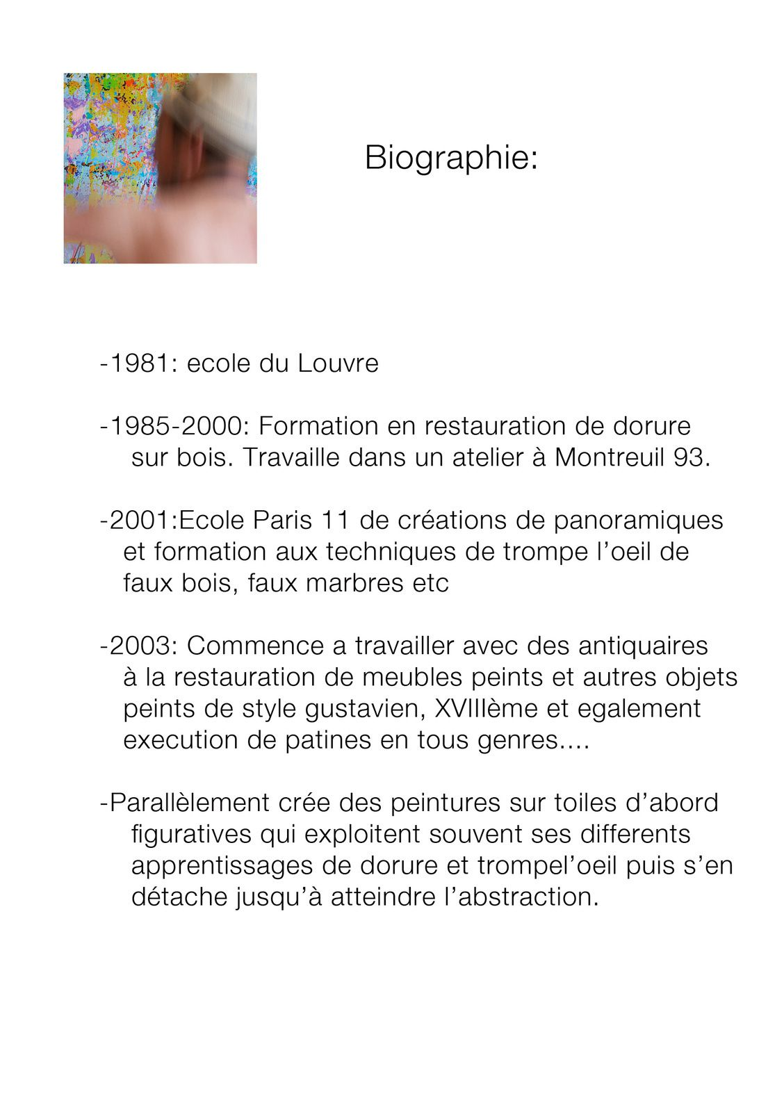 Biographie chris claisse