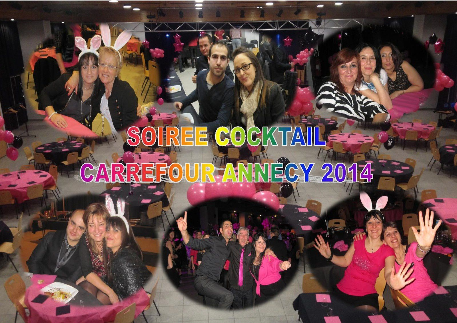 L'ALBUM PHOTO DE LA SOIREE COCKTAIL CARREFOUR ANNECY 2014