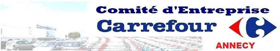 LE COMITÉ ENTREPRISE CARREFOUR ANNECY VOUS SOUHAITENT BONNE ANNÉE 2016!!!!
