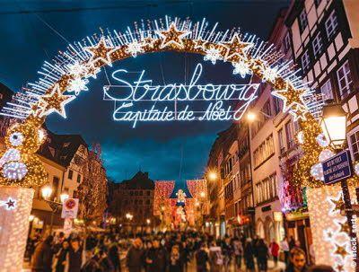 Marché de noël � de Strasbourg 2018