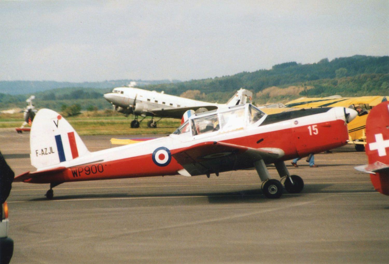Le DHC-1 Chipmunk F-AZJL