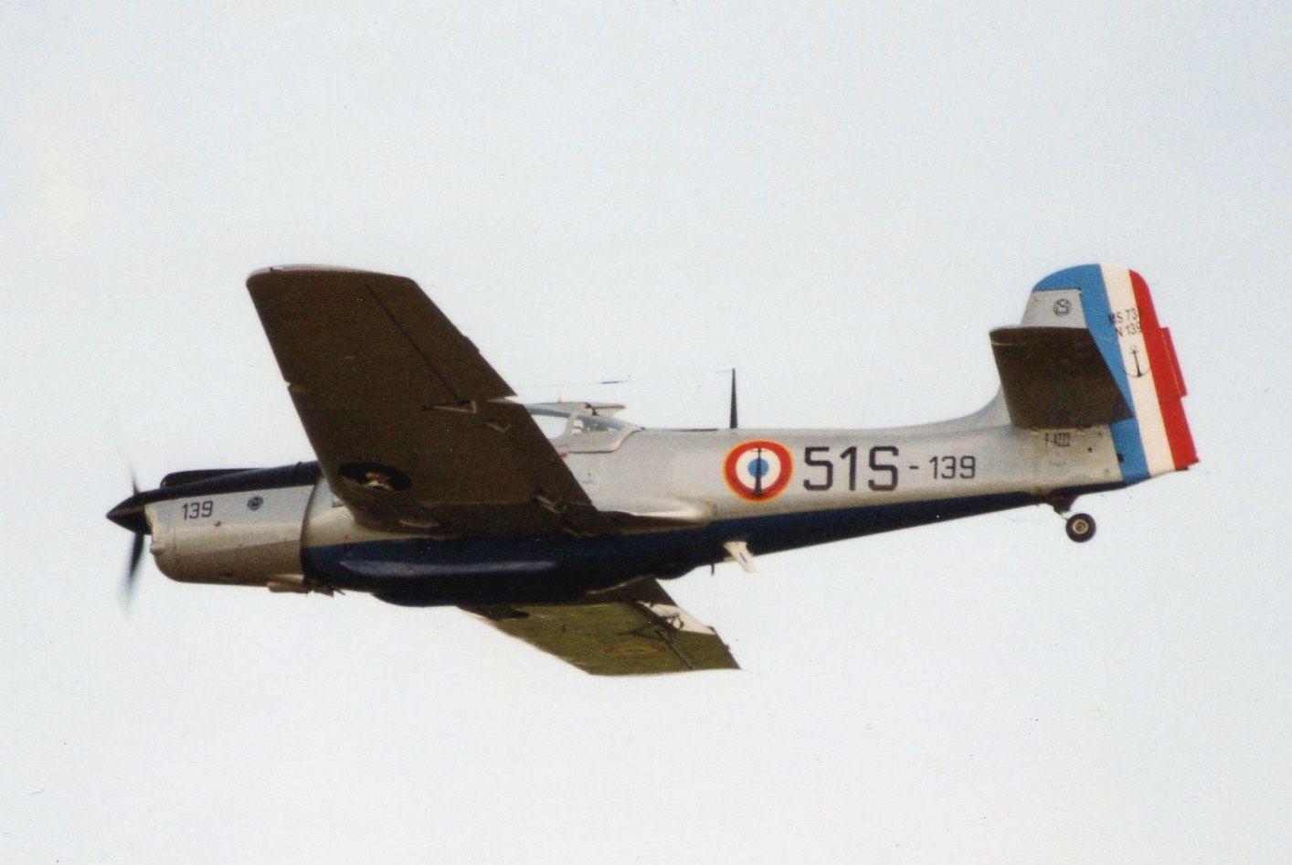 Le Morane Saulnier 733 Alcyon F-AZZZ