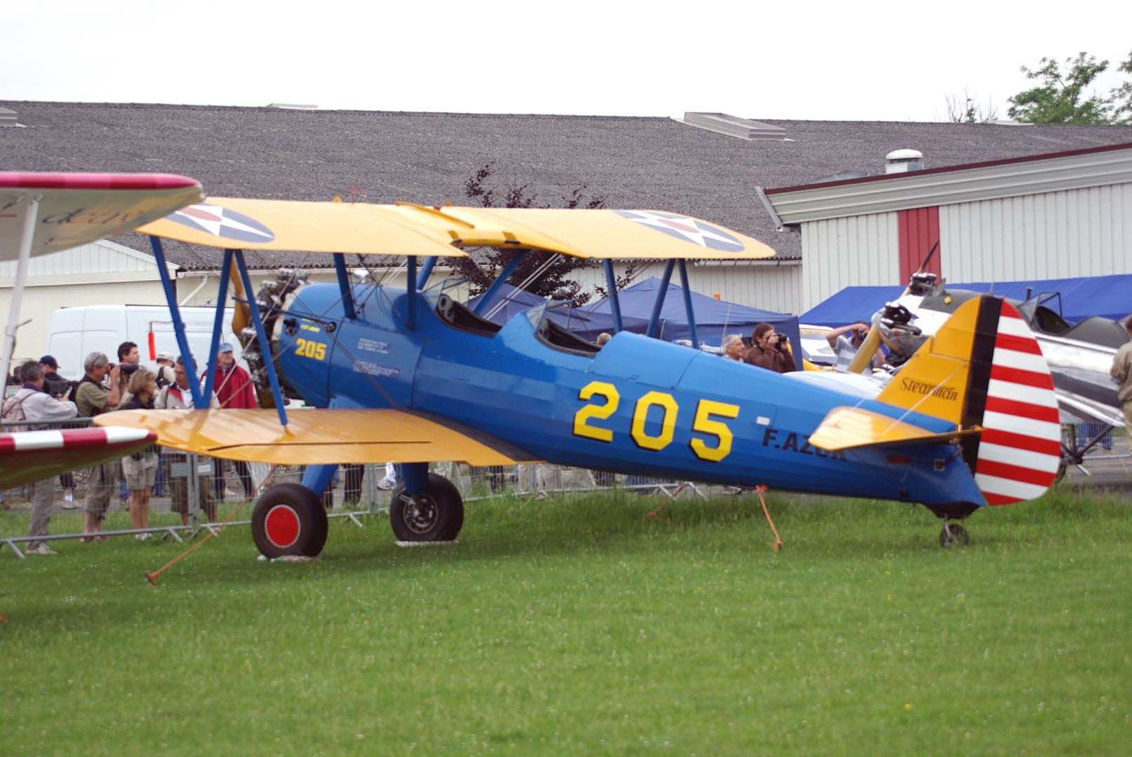 Le Boeing Stearman F-AZCK