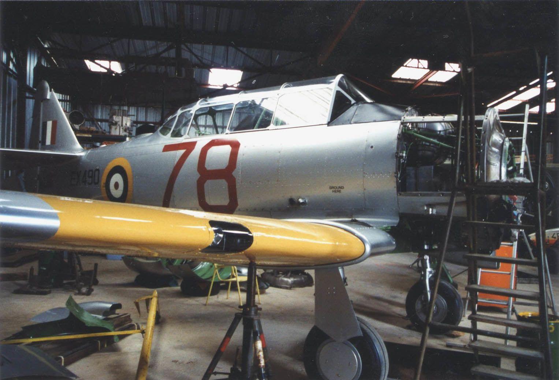 Le NA T6 F-AZQK vol en Nouvelle Calédonie