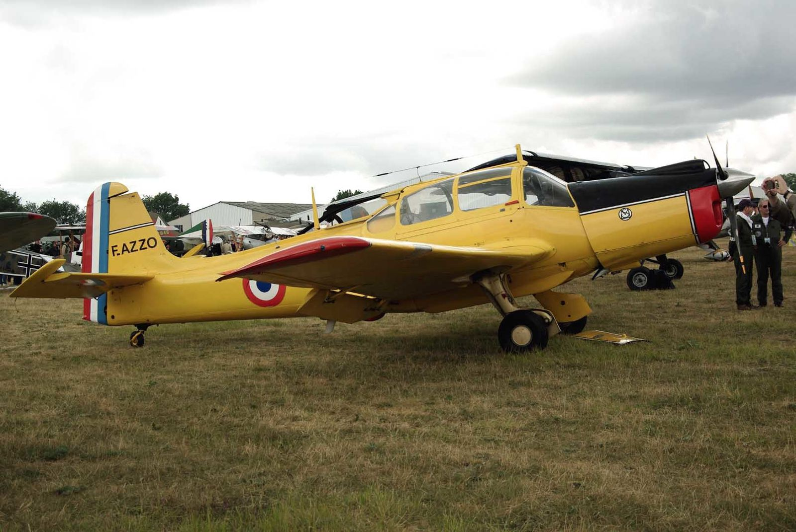 Le Morane Saulnier 733 Alcyon F-AZZO