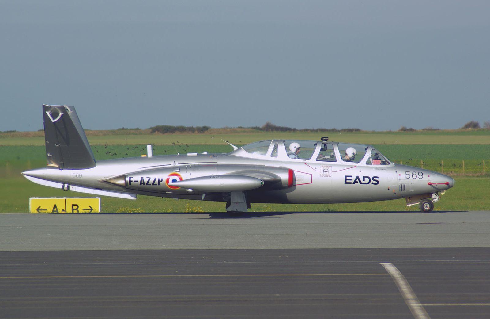 Le Fouga CM-170 Magister F-AZZP