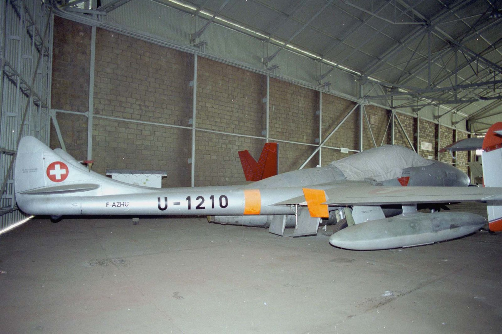 Le DH-115 Vampire T11 F-AZHU