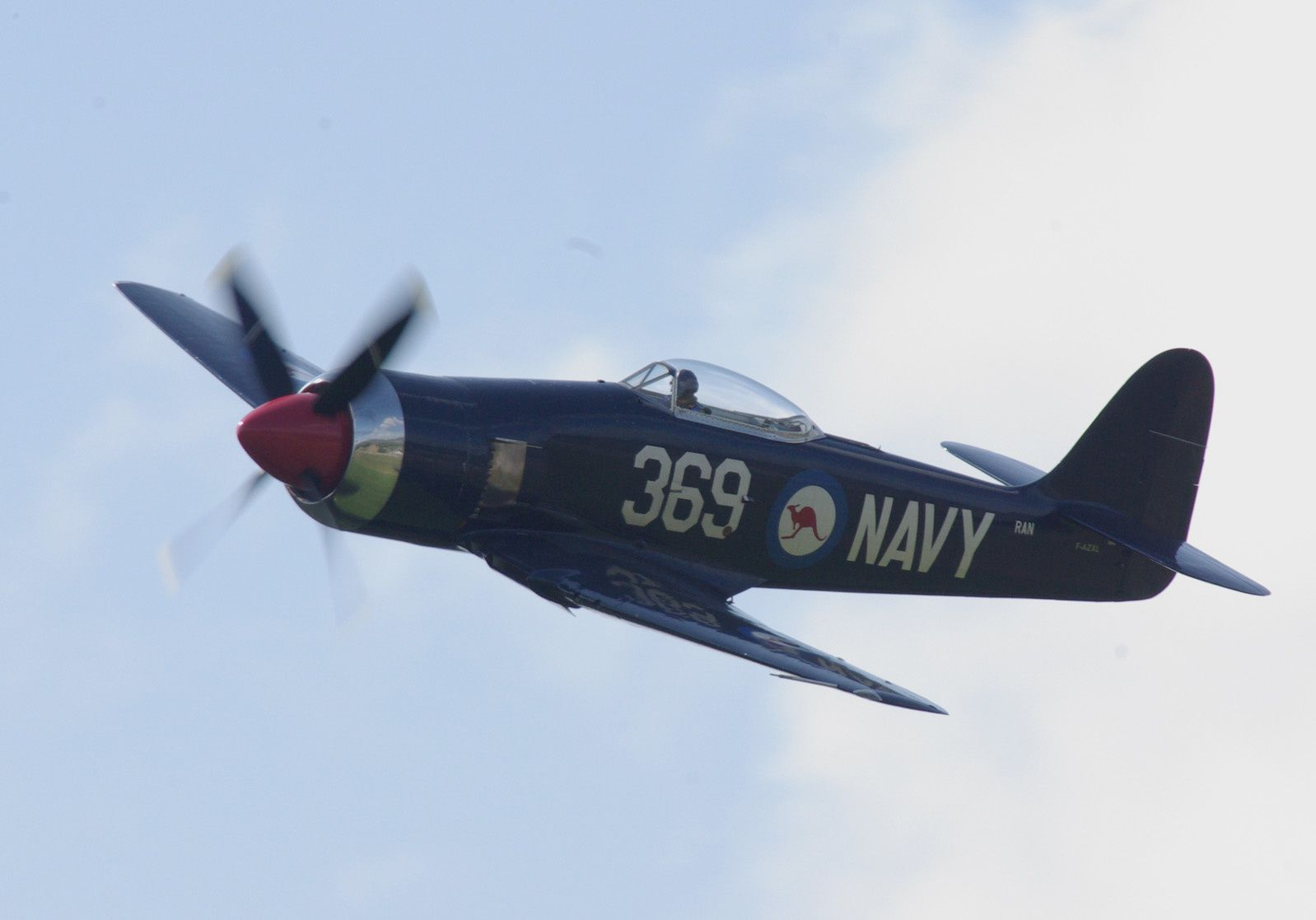 Le Hawker Sea Fury F-AZXL