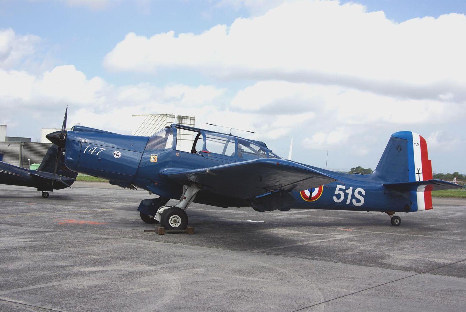 Le Morane Saulnier 733 F-AZRP