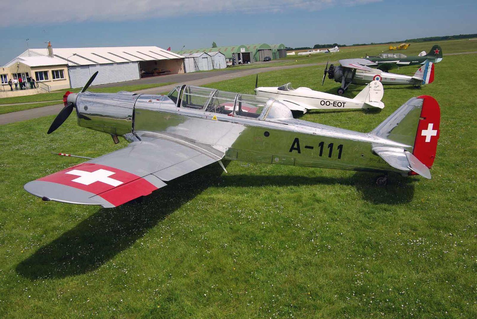 Le Pilatus P2 F-AZPK