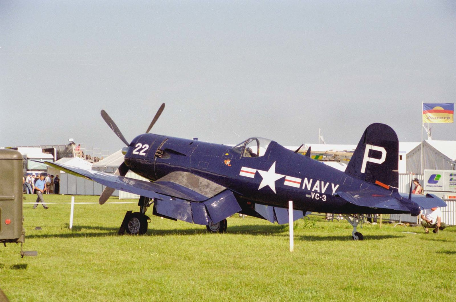 Le Chance Vought F-4U5 Corsair F-AZEG