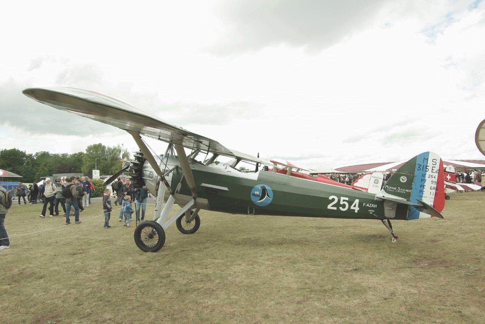 Le Morane Saulnier 315 F-AZAH
