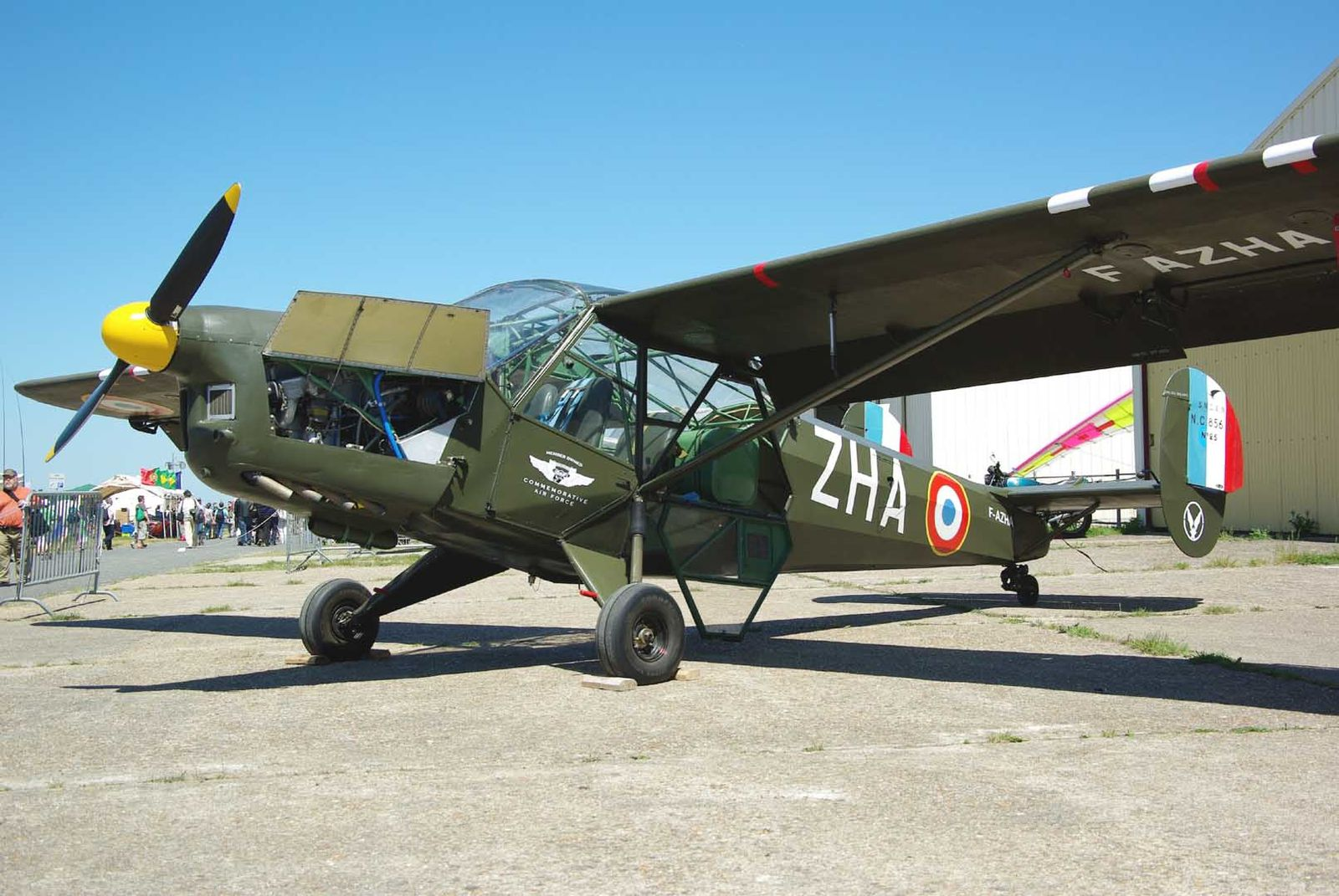 Le SNCAC NC-856 Norvigie F-AZHA