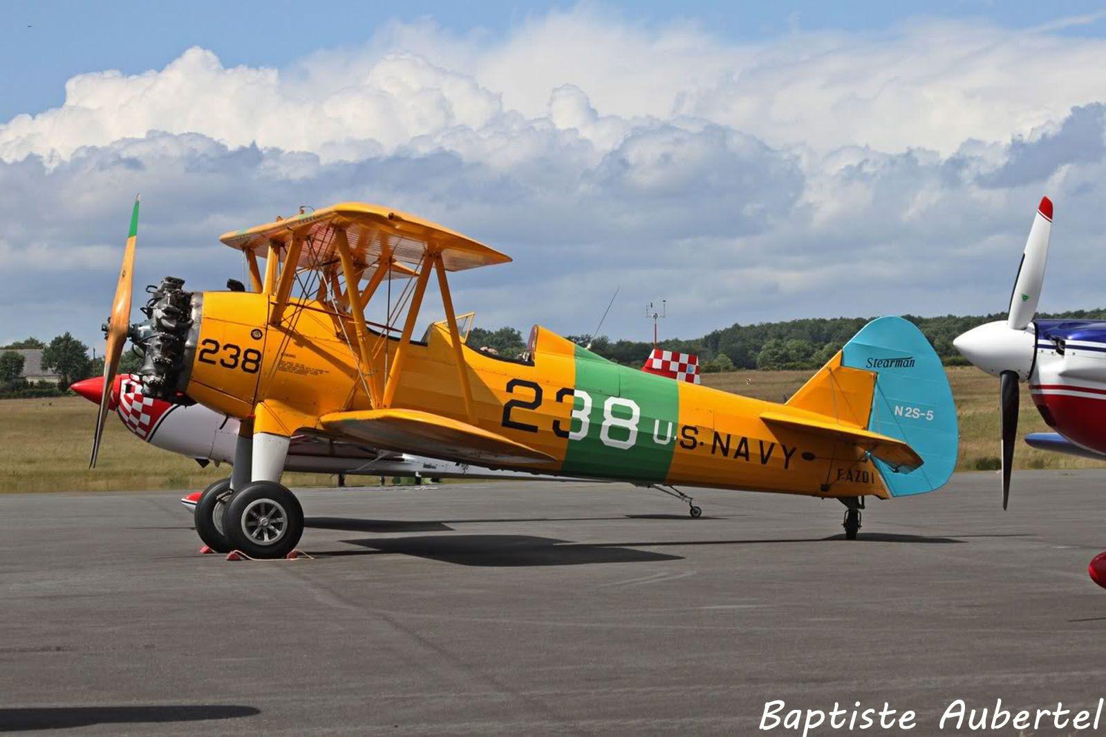 Le Boeing Steraman F-AZDI (photo Baptiste Aubertel)