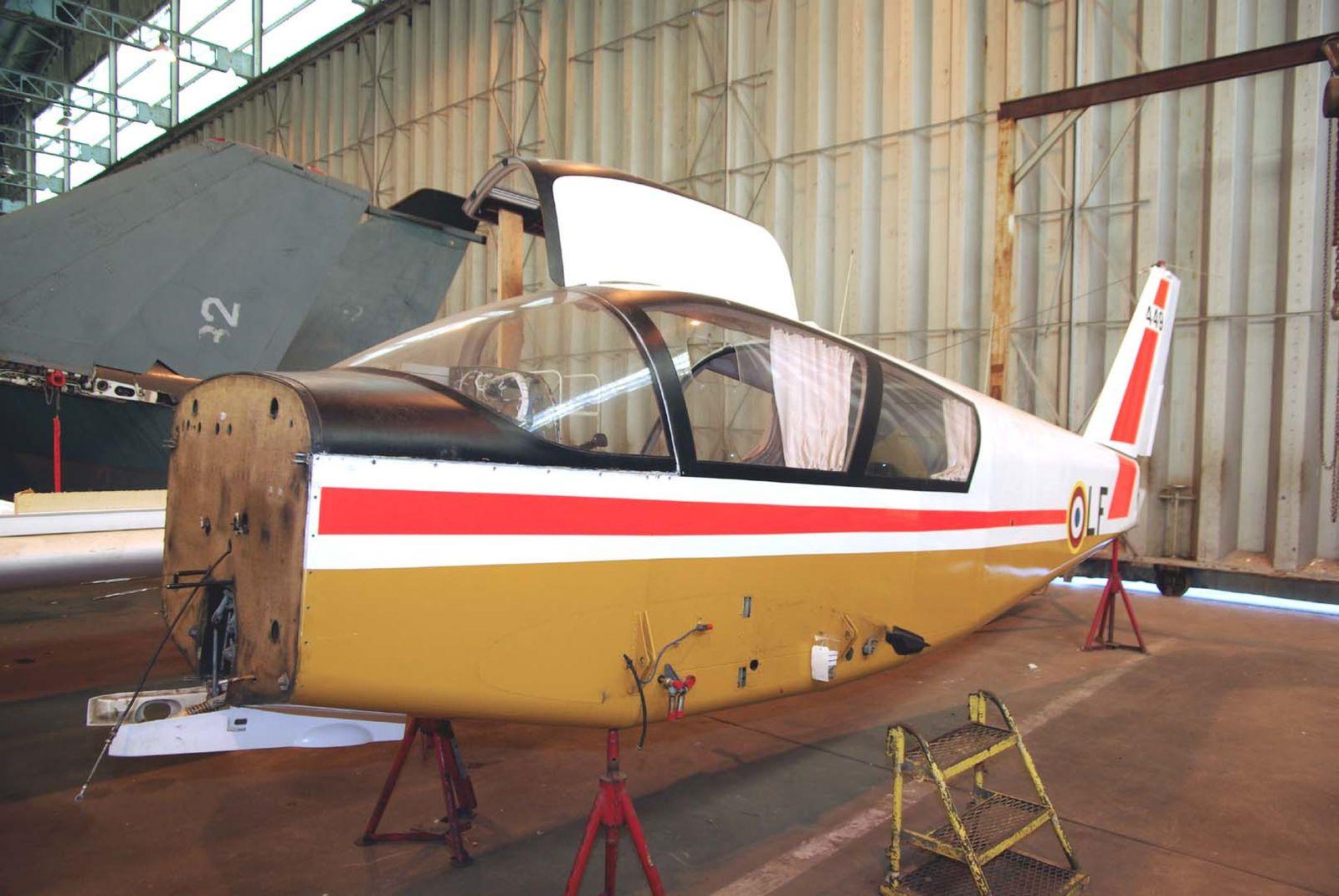Le Wassmer (CERVA) CE-43 Guepard F-AZRL