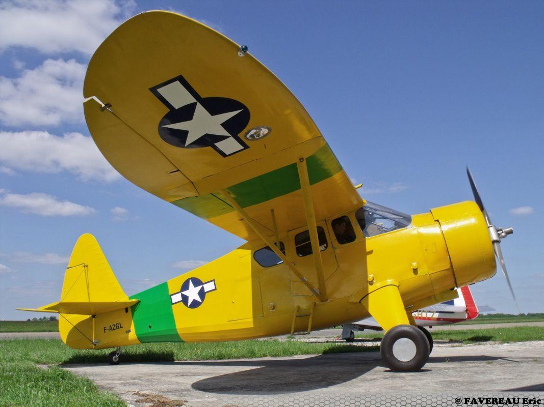 Le Howard DGA-15 F-AZGL, ici à Nangis (photo Eric Favereau)