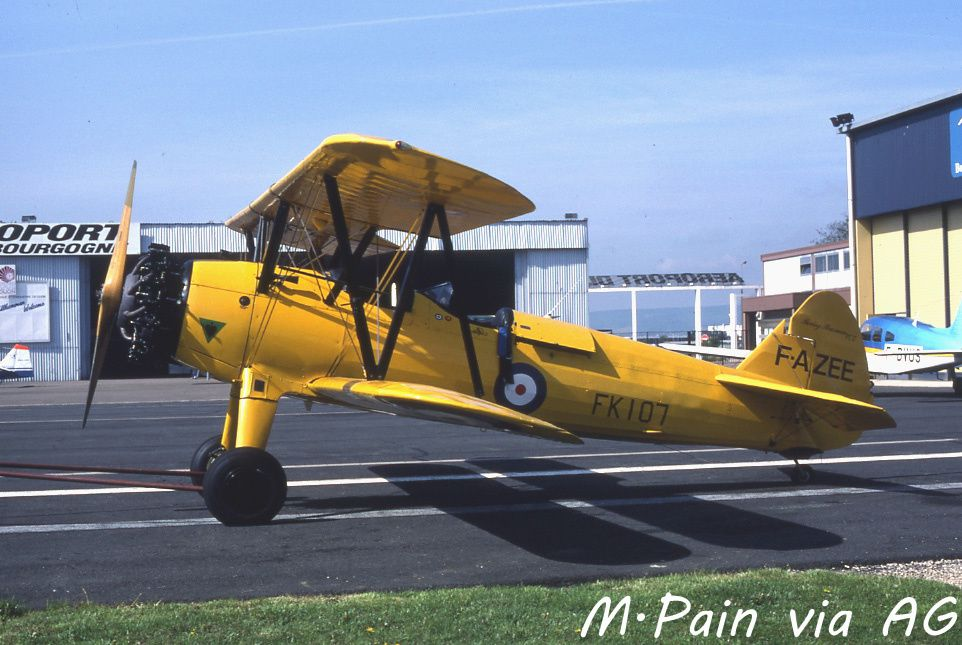 Le Boeing Stearman F-AZEE (photo M.Pain via AG)