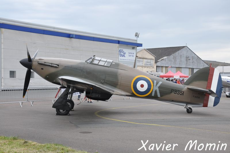 Le Hawker Hurricane MK-II F-AZXR (photo Xavier Momin)